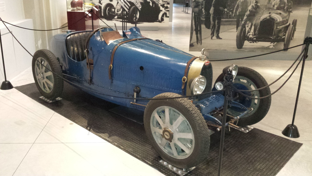 A new car for the museum: Bugatti Type 37